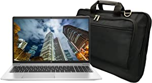 HP ProBook 450 G8 15.6in Notebook PC Bundle with Intel Core i5-1135G7 Quad-Core (4 Core), 8GB DDR4, 256GB SSD, 1920 x 1080 Display, Webcam, WiFi, Bluetooth, Win 10 Pro, and Laptop Bag