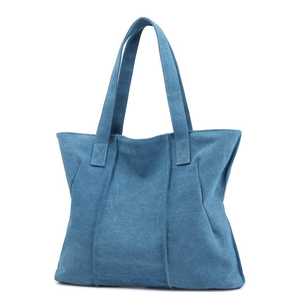 7956b8e4c428e Mode Damen Gross Handtasche Vintage Groß Shopper Tasche Freizeit ist  Geeignet für Schule