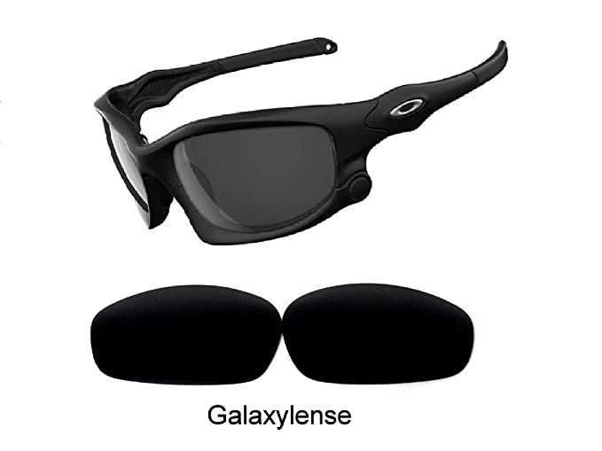 Galaxy Replacement Lenses for Oakley Split Jacket Black Color Polarized, 68867cdd54af