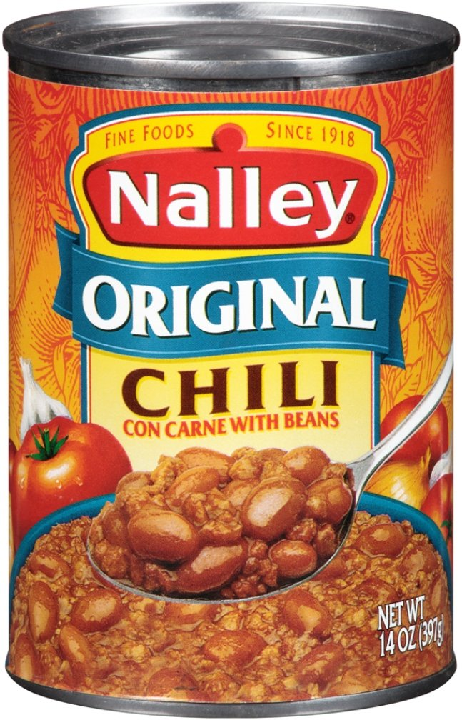 Nalley Chili, Original, 14 Ounce (Pack of 24)
