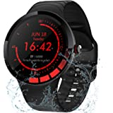 TMYIOYC Smart Watch, IP68 Waterproof Fitness Watch, Activity Tracker HR, Smart Bracelet with Pedometer, Sleep Monitor…