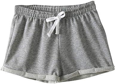Estilo Europeo Mujeres Pantalones Cortos causales de algodón Sexy ...