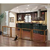 Amazon Com Richell 3 In 1 Convertible Elite Pet Gate 6