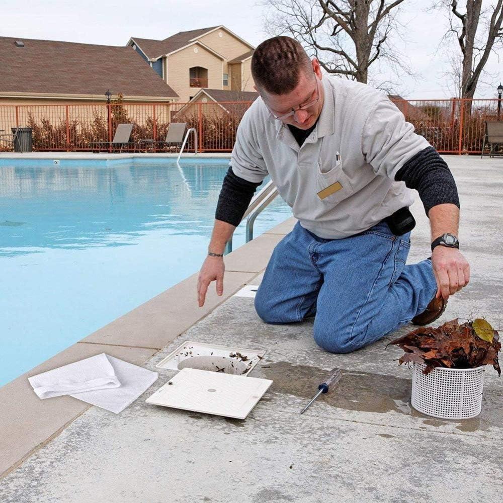 20 St/ücks Poolskimmer Filter Skimmer Korb Filter Schwimmbad Sieb Netz Reinigungsnet Pool Poolreinigungswerkzeug perfekte Pool /& Spa Saver