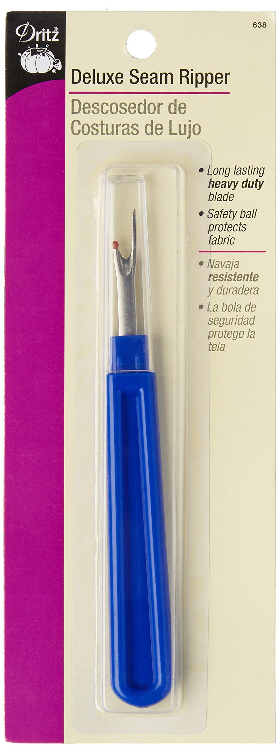 Dritz Bulk Package Deluxe Seam Ripper, 100-Pack, Blue by Dritz