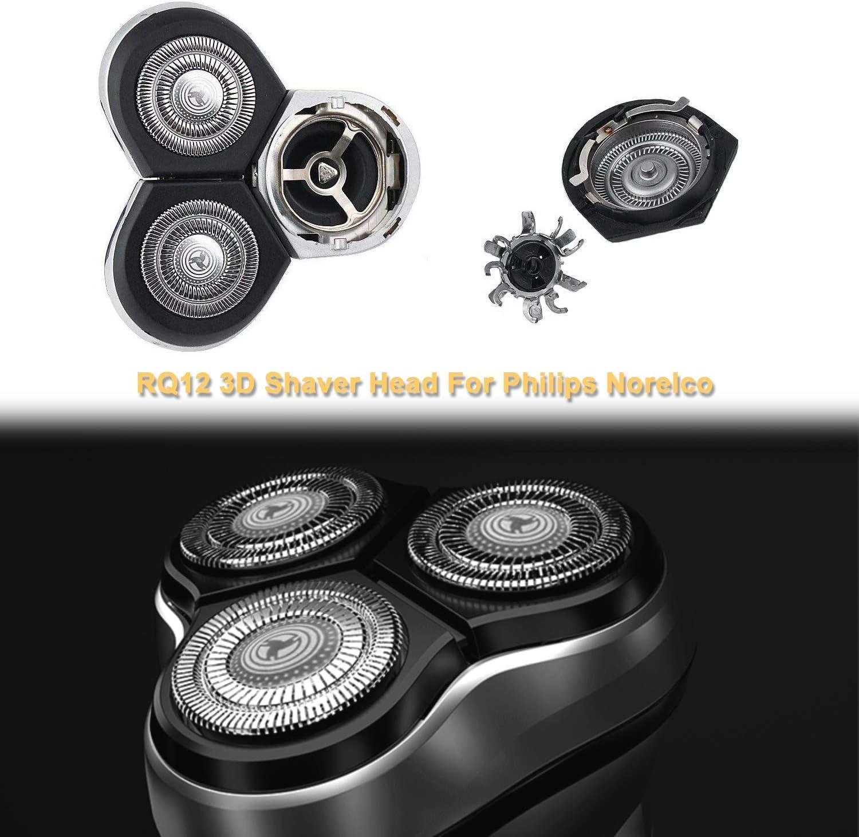 RQ12 Cabezales de Afeitado para Philips Norelco RQ11 RQ10 ...
