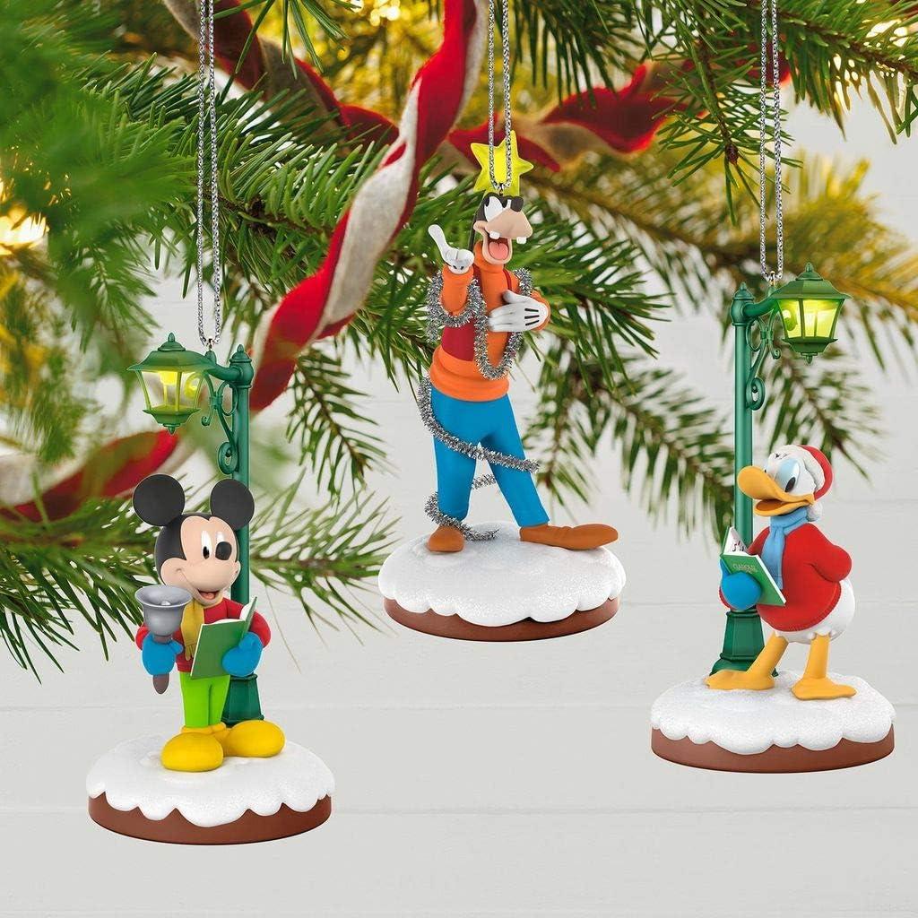 Disney Christmas Carolers Storytellers Gleeful Goofy Hallmark Keepsake