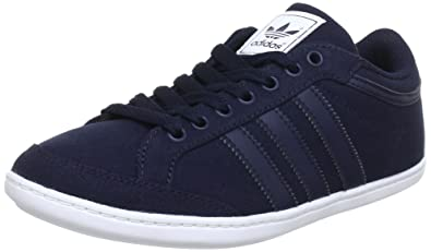 separation shoes 4aac6 e2d81 Adidas Plimcana q35421 Low Baskets Homme - Bleu - Blau (Legend Ink S10    Legend
