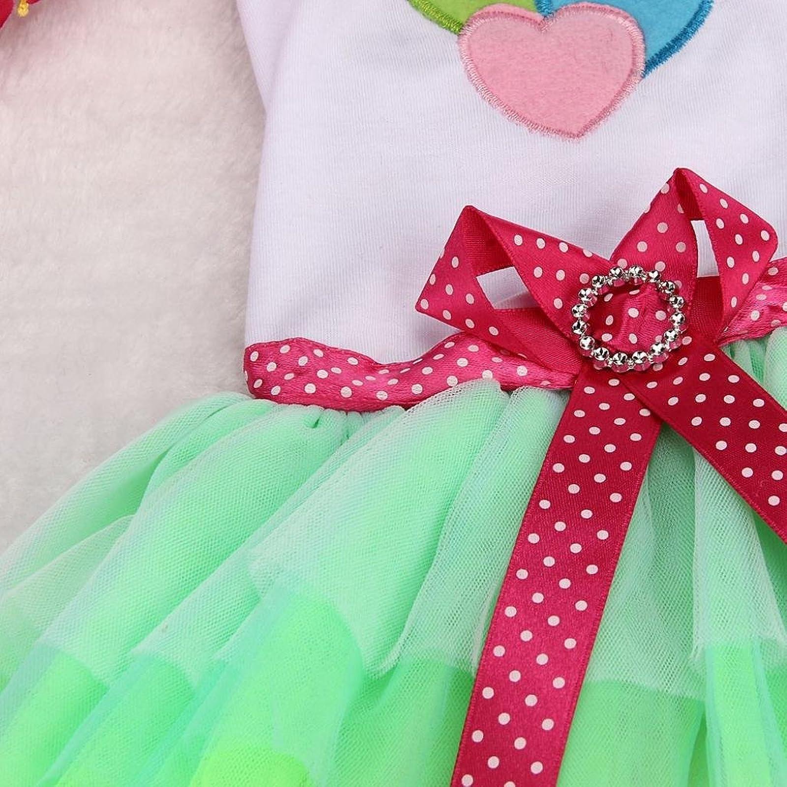 OutTop Girl Dog Dress Lace Princess Tutu WSM60224084S_YD - 3