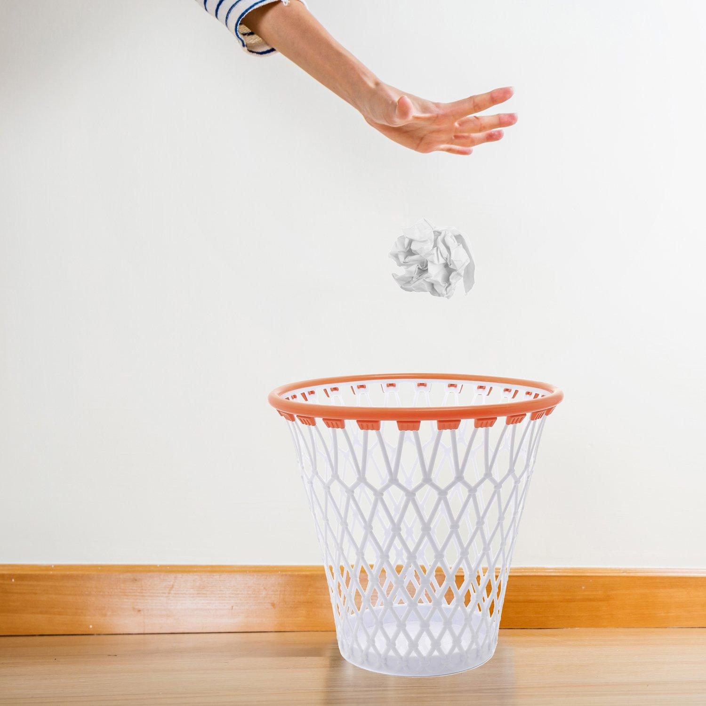 Papelera Basura Canasta de baloncesto de 32 x 32 cm: Amazon.es: Hogar