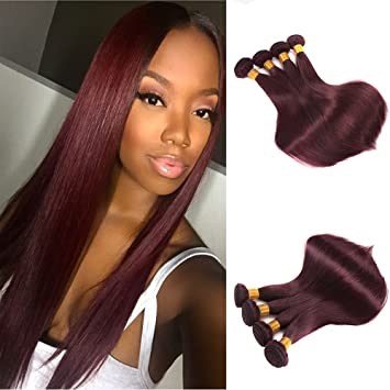 Amazon.com : FASHIJIA Brazilian Virgin Hair Straight 12 Bundles ...