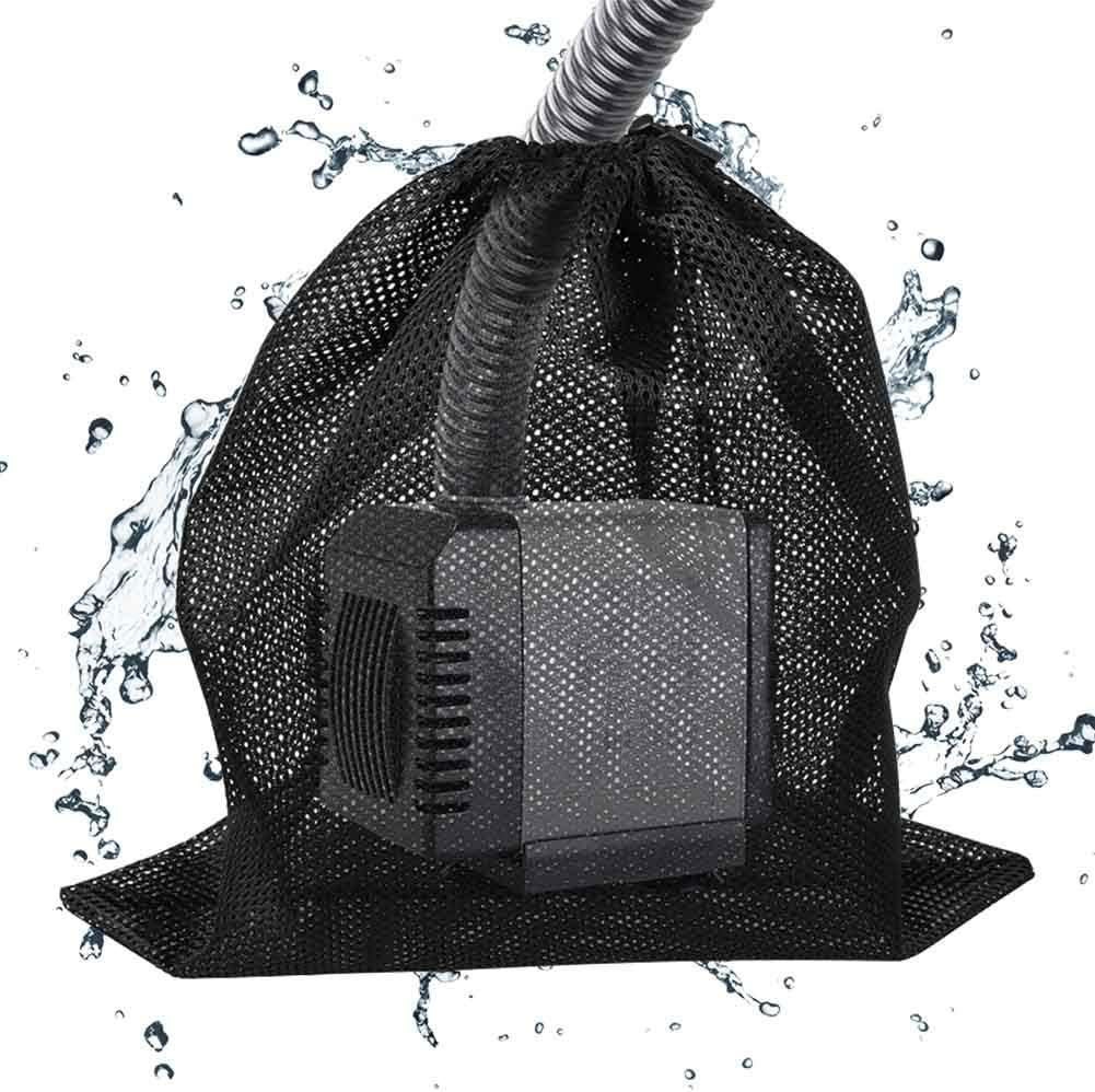 filtro biologico per laghetti con coulisse borsa per la maggior parte delle pompe 12,2 x 16,1 cm CenYC Sacca per pompa per laghetto