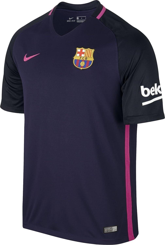 nike fc barcelona stadium top purple black pink xxl amazon de bekleidung nike fc barcelona stadium top purple