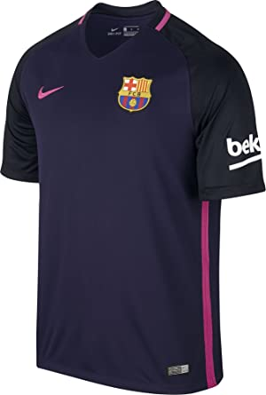 NIKE FC Barcelona Away Men's Soccer Stadium Jersey 201617 (Small)