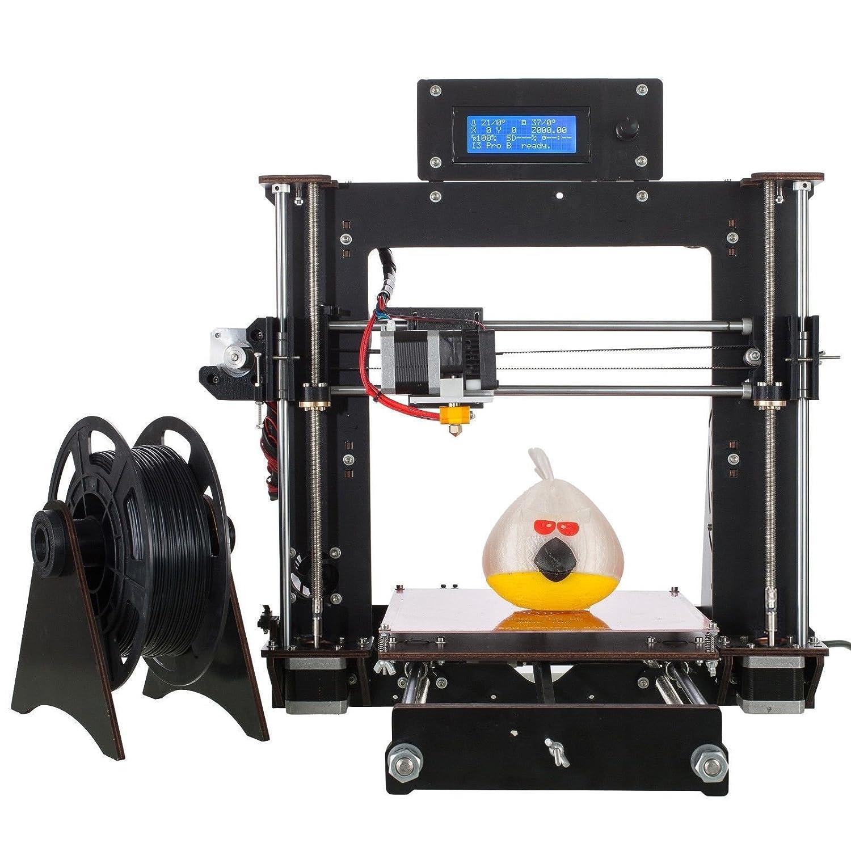 AA+inks 2017 Upgraded Full Quality High Precision Reprap Prusa i3 DIY 3d Printer NDCSUK A-102