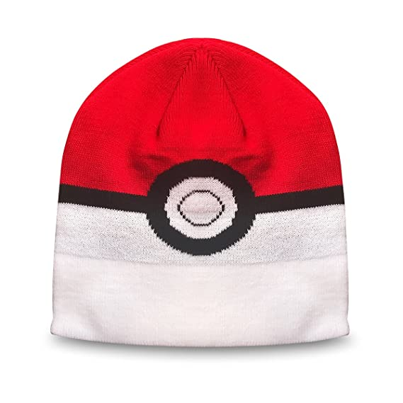 Beanie Hat Winter Yeam Pokeball Winter Adult Beanie Cap