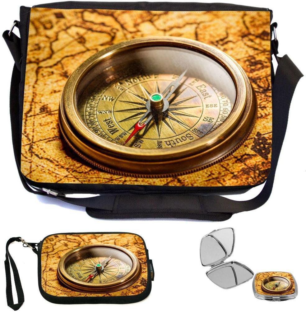 f609c43db760 outlet Rikki Knight Vintage Compass Lies On Ancient World Map Design ...