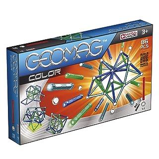 Geomag 254 Sistema di costruzione magnetico Classic Color, con 86 pezzi