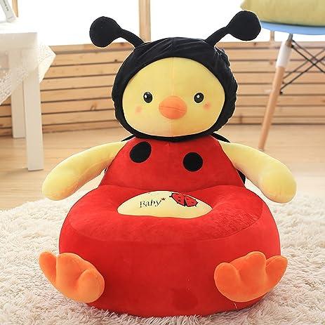 MAXYOYO Super Cute Plush Toy Bean Bag Chair Seat For Children,Cute Animal  Plush Soft