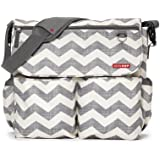 Skip Hop Dash Signature Messenger Diaper Bag, Chevron