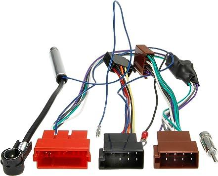 Adapter Universe Cable Adaptador para Antena de Radio de Coche, DIN ISO, Conector Hembra de 8 Pines para Audi A3 A6 Seat Leon Toledo