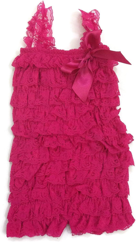 RUSH  Baby Girl  Romper Bodysuit~Pink