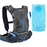 Hydration Backpack, Evecase Daypack with 2 Liter Water Bladder for Cycling Hiking Climbing Running Camping and Any Other Outdoor Sport