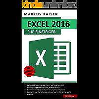 Excel: 2016: für Einsteiger