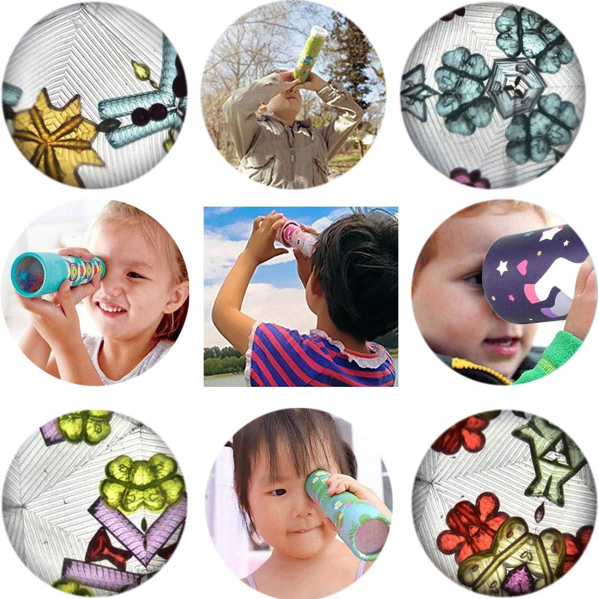 Osuter 6PCS Kaleidoskop Spielzeug Set Kaleidoscope Classic Lernspielzeug f/ür Kinder Erwachsener