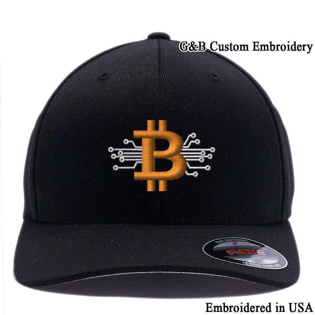 BitCoin Cap HAT ユニセックスアダルト B0794R7XWZ  ブラック Small / Medium