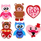 12 Owl You Need is Love Sign Foam Craft Kit~Valentines Day~School//Church//Classroom Project