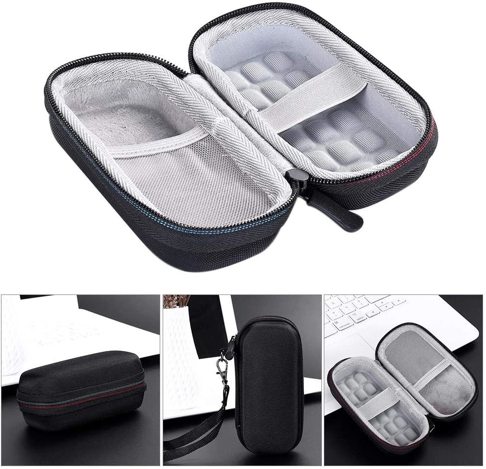 Extreme Portable SSD SDSSDE60 Carrying Storage Bag Travel Hard Case for SanDisk 250GB 500GB 1TB 2TB