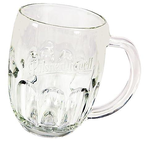 Pilsner Urquell Beer Mugs Set Of 2 Pieces Half Pint
