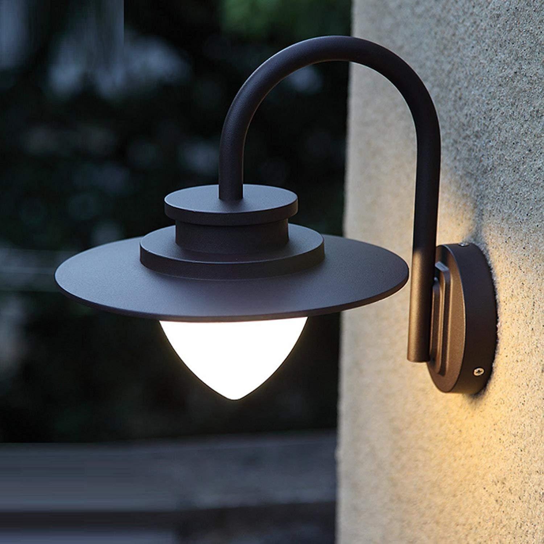 Cosa luce da parete balcone esterno porta anteriore impermeabile ultra brillante Lampada da parete LED luce esterna semplice American europei Outdoor luce da parete impermeabile, E27
