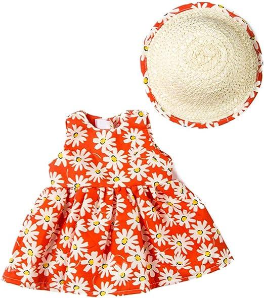 Falda Estampada para muñeca con Gorra de Regalo para niña, Accesorio de Moda, Juguetes Coloridos para niños, Show, b: Amazon.es: Hogar