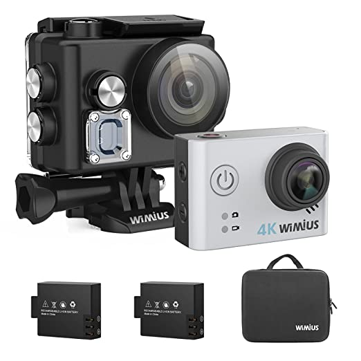 42 opinioni per 4K Sport Camera WiMiUS L2 Wifi Action Cam Impermeabile 40m 1080P HD 12MP