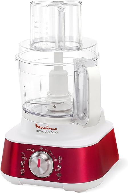 Moulinex Masterchef 8000 1000W 3L Rojo, Color blanco - Robot de ...
