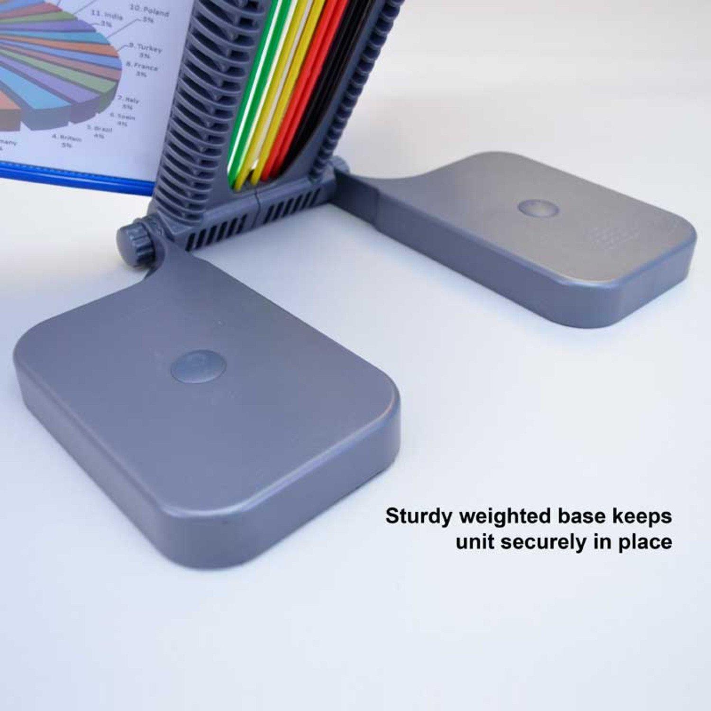 Ultimate Office AdjustaView 20-Pocket Desk Reference Organizer by Ultimate Office (Image #6)