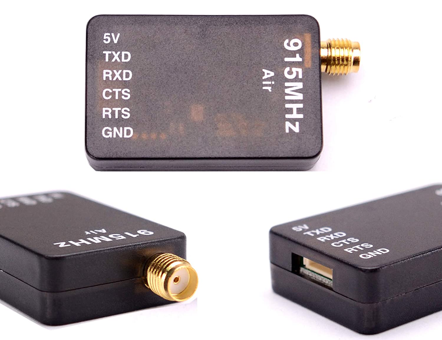 Readytosky 3DR Radio Telemetry Kit 915Mhz 100mW Air + Ground Module Open  Source for Standard Version ...