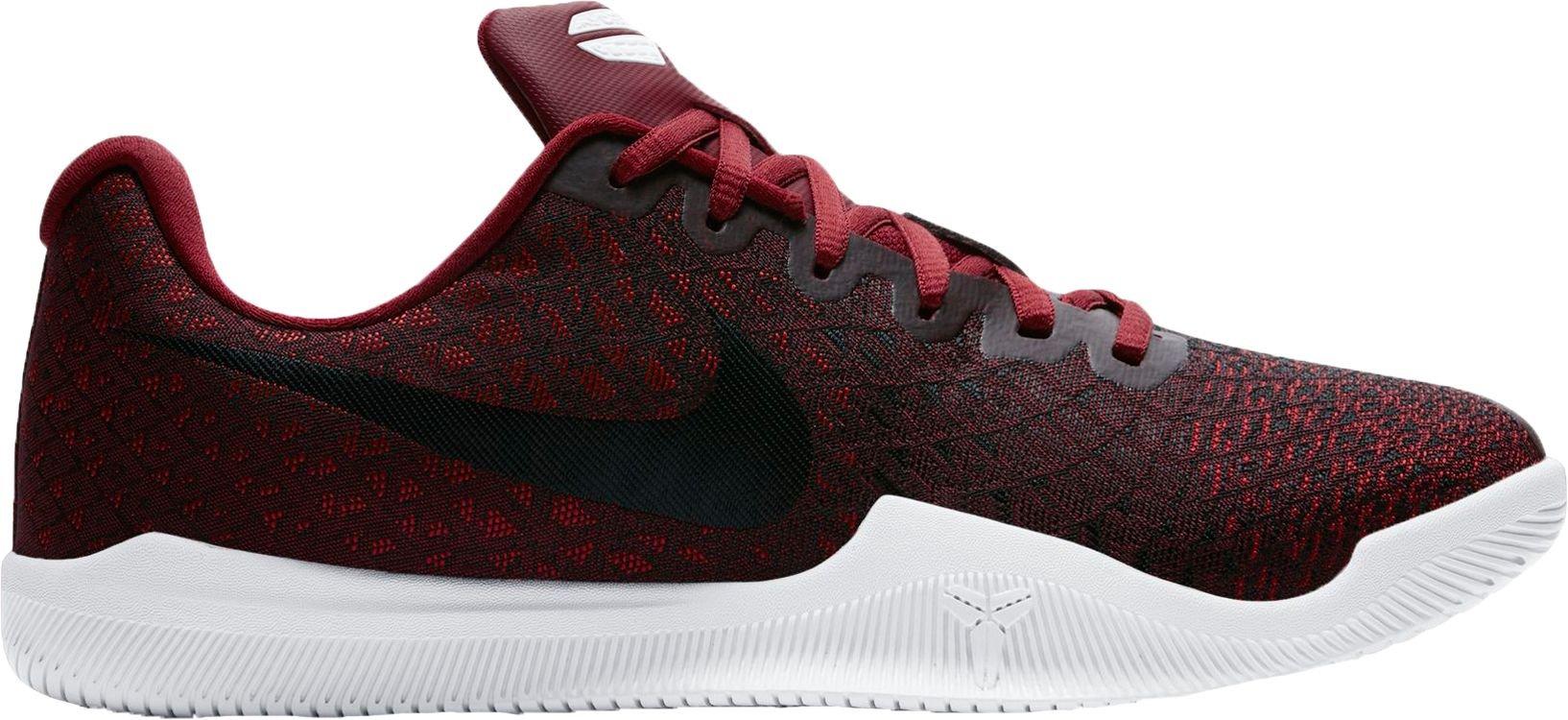 Nike Men's Kobe Mamba Instinct Basketball Shoes (8, Red/White-M)
