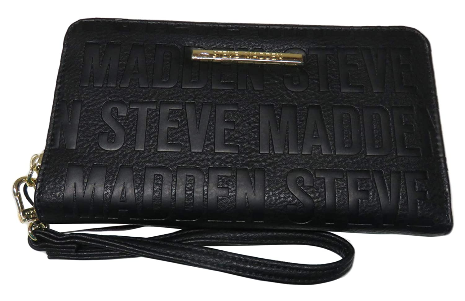 best sneakers 82db4 cfe6d Steve Madden Wristlet/Wallet/Cell Phone Holder Black