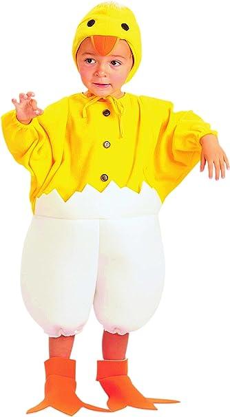EUROCARNAVALES Disfraz de Pollito Calimero Bebe - Bebé, de 1 ...