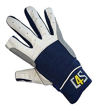 C4S Segelhandschuhe 5 Finger geschnitten Segeln Wassersport Handschuhe Bekleidung