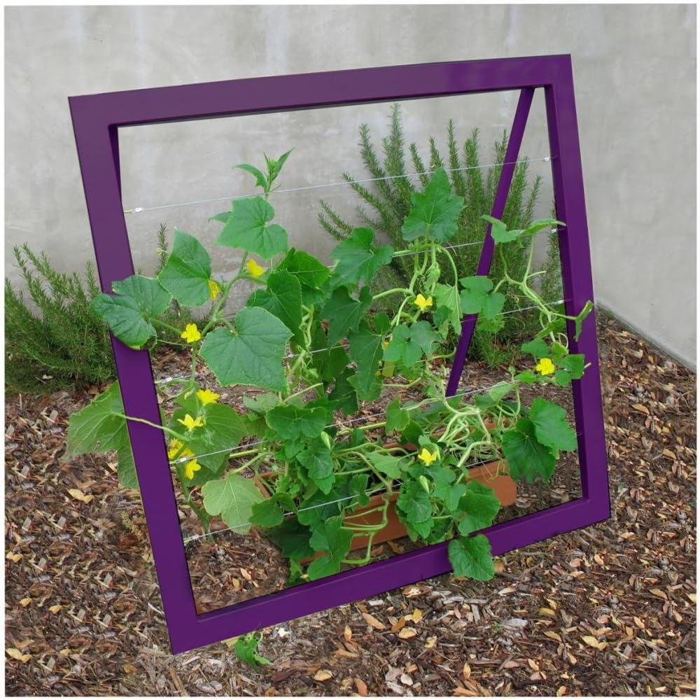Terra Trellis - Mira Garden Trellis Jr. (Aubergine/Purple)