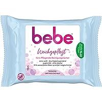 Bebe 5-In-1 Verzorgende Reinigingsdoekjes, Make-Updoekjes Voor De Gevoelige En Droge Huid (6 x 25 Stuks)