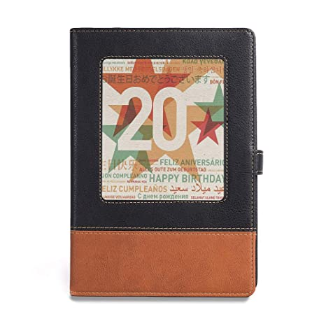 Amazoncom Vintage Writing Notebook Diary 20th Birthday