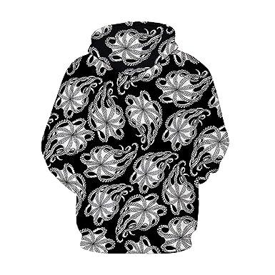 Amazon.com: Funny Octopus 3D Printed Hoodies Men Women Sweatshirts Casual Hoodie Pullover Harajuku Hip Hop Tracksuit Male: Clothing