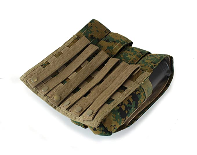Freizeit P90 Paintball PouchSportamp; Molle Vertical 4x Pod 9DHE2I