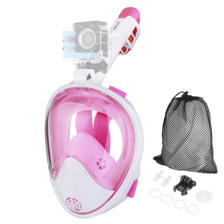 easybreath Maschera Subacquea Snorkeling Maschera per Snorkeling SFUN Maschera da Snorkel Full Face Design di Respirazione Libera Maschere subacquee Immersioni//Nuoto 180 Gradi panoramici