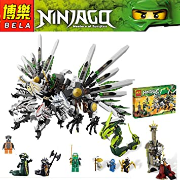 Amazon.com : 911Pcs Ninjago Set Epic Dragon Battle Phantom ...